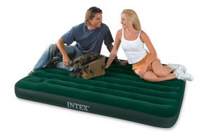 Intex Double Size Downy Airbed with Built in Foot Pump