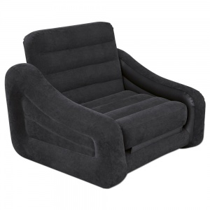 Intex Pull-out Chair and Airbed in Black