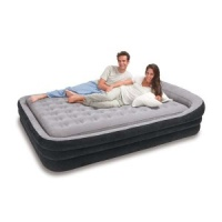 Intex Queen Size Comfort Frame Airbed with Hand-Held Electric Pump