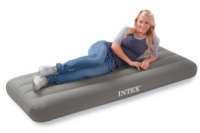 Intex Junior Single Roll 'N Go Airbed With Hand Pump