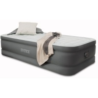 Intex PremAire Single Size Raised Airbed with Built in Electric Pump