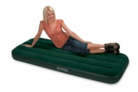 Intex Junior Single Size Prestige Downy Airbed with Battery Pump