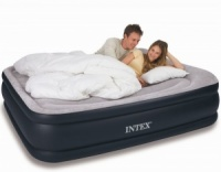 Intex Queen Size Deluxe Pillow Rest Airbed