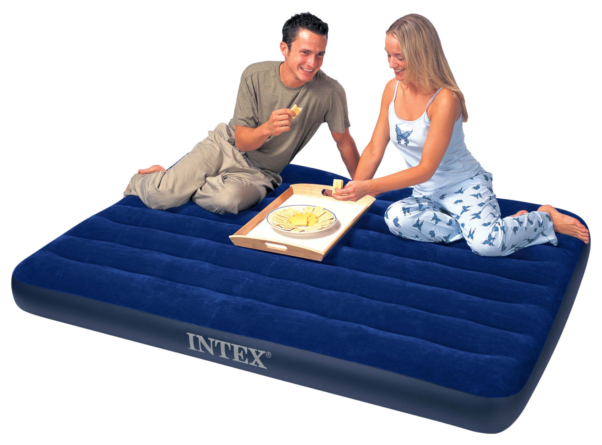 Intex Double Size Classic Downy Airbed Only Airbeds Co Uk