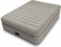 Intex Fiber-Tech Prime Comfort Queen Size Raised Airbed with Built in Electric Pump